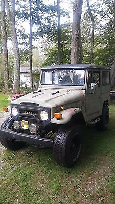 1972 Toyota Land Cruiser  1972 Toyota Land Cruiser FJ40
