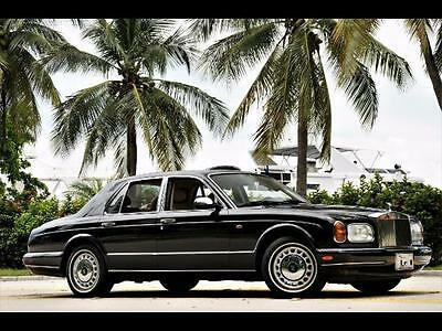 1999 Rolls-Royce Silver Seraph  BLACK ONLY 29K SERVICED SUNROOF FLASK AND CRYSTAL GLASSES