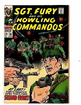 Sgt. Fury and His Howling Commandos #58 (Marvel, 1968)