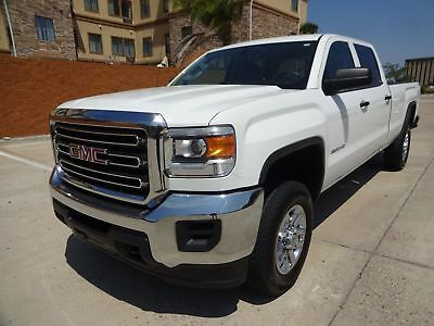 2015 GMC Sierra 2500 Base Crew Cab Pickup 4-Door 2015 GMC Sierra 2500HD Crew Cab 4x4 6.0L Vortec V8 Engine