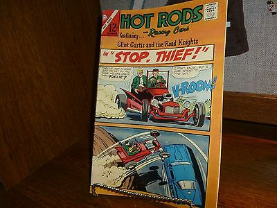 Hot Rods And Racing Cars #82 Charlton Comics 1966 ==Vg++