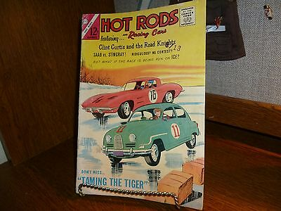 Hot Rods And Racing Cars #71 Charlton Comics 1964 ==Vg