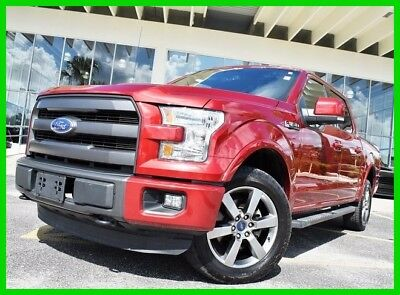2015 Ford F-150 Lariat 2015 Lariat Used 5L V8 32V Automatic 4WD Pickup Truck Moonroof