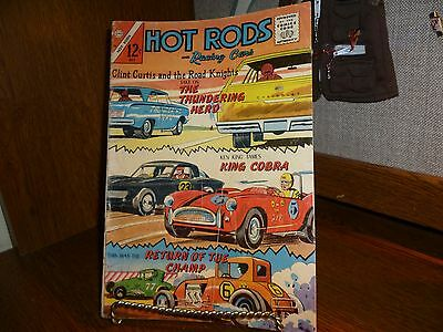 Hot Rods And Racing Cars #74 Charlton Comics 1965 ==Vg