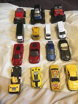 Children's Job Lot Of Mixed Vehicle Bundle x 15