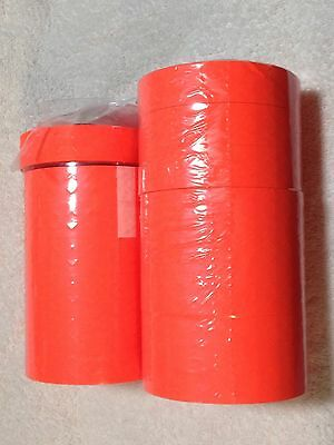 Monarch 1131 Labels - Fluorescent Red - Labels - 15 ROLLS (FREE SHIPPING)