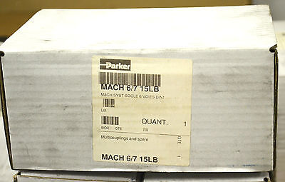 Parker Hannifin Mach 6/7 15Lb Quick Coupling Male Nipple Neu New Ovp