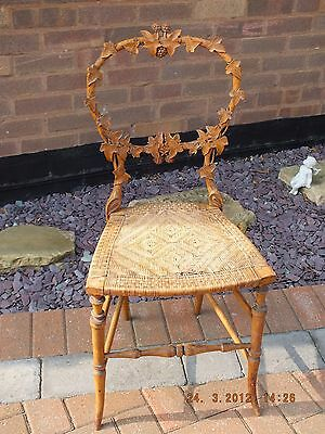Pair Of Black Forest Applewood Chairs