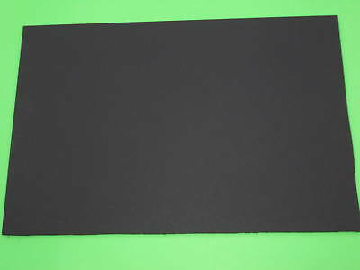 3 KYDEX TP3 52114, 3 thermoplastic sheets, ép.1,524 mm-0.06 inch, 300x154mm,noir