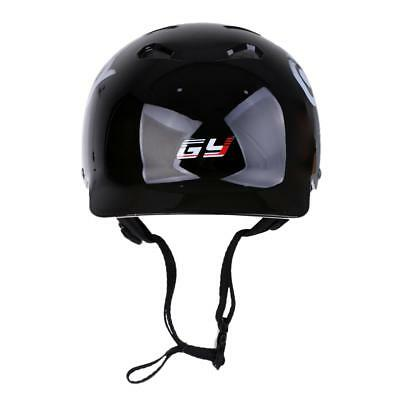 Black 56-58cm Helmet for Watersports Canoe Kayak Safety Surfing Whitewater