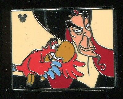 DLR 2009 Hidden Mickey Villains with Pets Jafar Iago Disney Pin 73303
