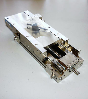 """STAR LINEAR SYSTEMS Crossed Roller Bearing Precision Stage, 4.5"""" travel NEW!!"""