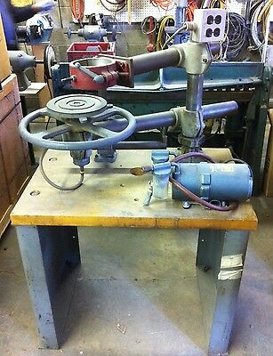 Wesflex Radial Arm with Vacuum for router duplicating