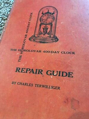 Horolovar 400 Day Clock Repair Guide Watchmaking And Clockmaking