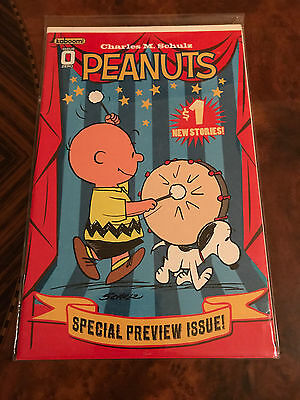 Snoopy Peanuts Tv Charlie Brown Comic Book - Kaboom - Charles M. Schulz Issue #0