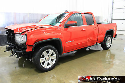 2016 GMC Sierra 1500 SLE 4x4 Ext cab 4 door GMC Sierra SLE 4x4 Ext Cab 4 Dr, 5.3L, Salvage Title, Repairable #139967