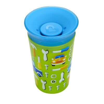 Munchkin Miracle 360 Degrees Deco Sippy Cup, 266 ml - Green Car