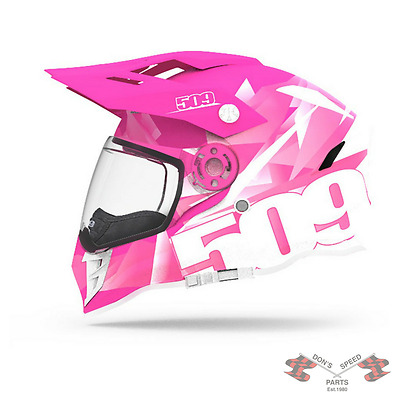 509-HEL-DPI-MD 509 Gear Highlighter Pink Helmet Delta R-3 2018