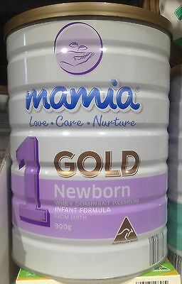 3x Mamia Gold Newborn Whey Dominant Premium Infant Formula