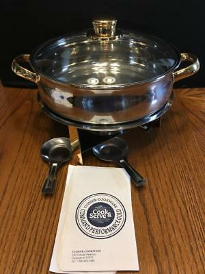 Command Performance Gold Cookware Chafing Dish - Complete