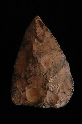 NEANDERTHAL, MOUSTERIAN BLADE, KNIFE, TOOL, PALEO, Ebro River Valley, Spain