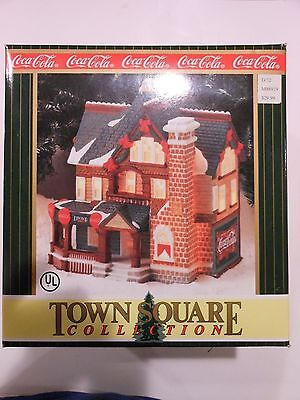 Coca Cola Town Square Collection Dew Drop Inn NEW 1996
