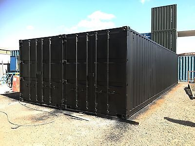 40x16 Joined Shipping Containers - Space - Office - Workshop - Storage