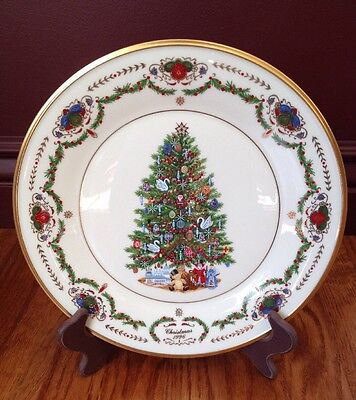 Lenox 1996 Christmas Trees Around The World Plate - Russia - Limited Edition