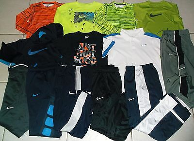Nike Boys Size Meduim Pants, Shirts And Hoodie Athletic Clothing Lot In Euc!