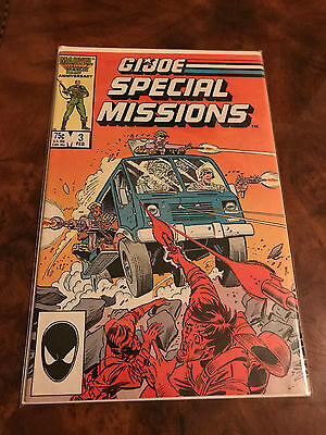 Marvel 25Th Anniversary G.i. Joe Special Missions Comic Book Bagged
