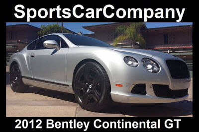 2012 Bentley Continental GT Continental GT Mulliner Edition 2012 CONTINENTAL GT MULLINER EDITION LOW MILE LOADED EXCEPTIONAL CALIFORNIA CAR!