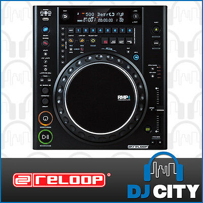 RMP-4 Reloop Hybrid Pro DJ Media Player Supports CD, USB, and MIDI Connection