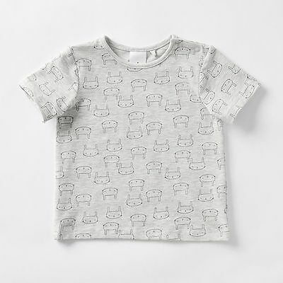 NEW Baby Organic Cotton Short Sleeve T-Shirt