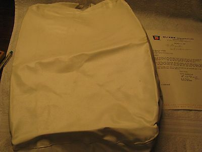 NOS Oliver 1550/1850 Seat Cover with 1967 Dealer Letter Very Nice!