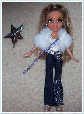 BRATZ MGA DOLL YASMIN FOREVER DIAMONDZ 2006 ORIGINAL CLOTHING and ACCESSORIES
