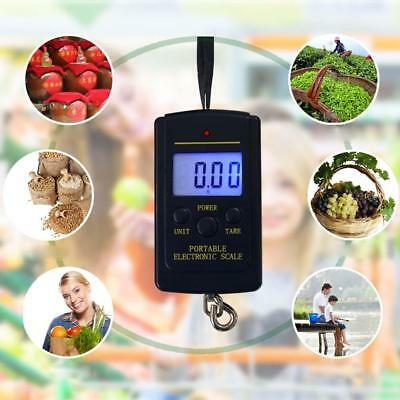20g-40Kg Digital Hanging Luggage Fishing Portable LCD Screen Display Scale FG