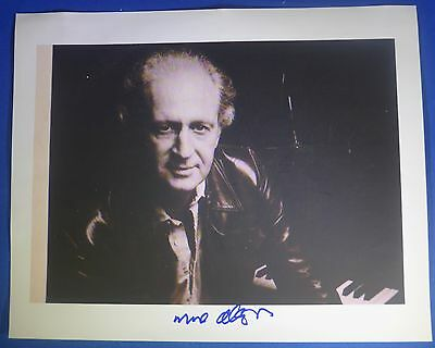 MOSE ALLISON deceased 2016 signed autographed 8 by 10 photo