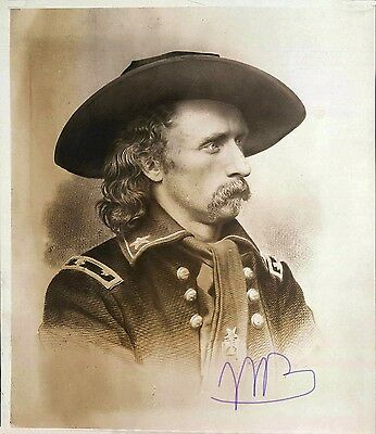 """Giclee Art Print of Antique Photo """"George Custer"""" 8 X 10 Old Wild West c.1860s"""