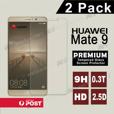 2X Mate 9 Tempered Glass Film Screen Protector For HUAWEI