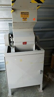 Used- Prodeva Single Rotor Plastics Shredder, Model 315-S, Carbon Steel. Cutting