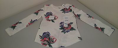 NWT Old Navy Toddler Girl's Long Sleeve Floral Tee size 5T