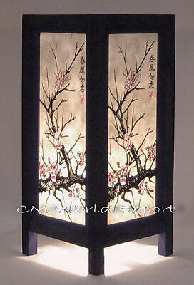 Asian Home Bedroom Table Lamps, Paper Lanterns - *japanese Cherry Blossom Lights