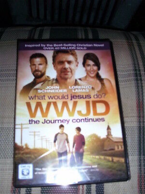 NEW DVD What Would Jesus Do The Journey Continues, Free Postage, Encouraging