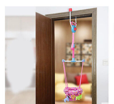Fashion Pink Adjustable Length 140-237CM Children Hanging/Jump Chair Toys *