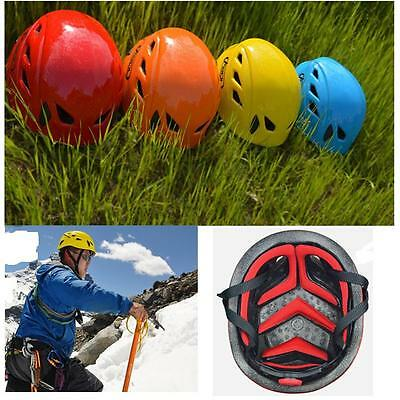 Professional Safety Work Rock Tree Climbing Caving Kayak Rescue Helmet Protector