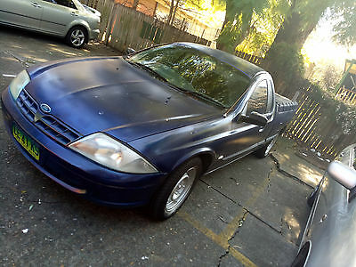 Ford Falcon AU ute 1999 - rare 5 Speed manual new tyres unregistered