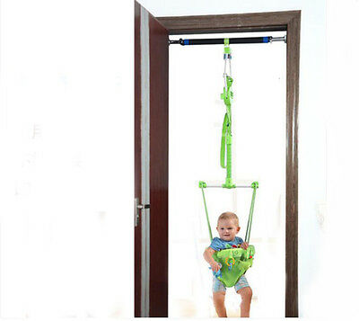 Fashion Green Adjustable Length 140-237CM Children Hanging/Jump Chair Toys *1