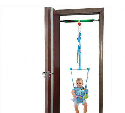 Fashion Blue Adjustable Length 140-237CM Children Hanging/Jump Chair Toys *1