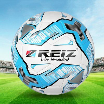 REIZ PU Football Official Size 5 Professional Ball For Outdoor Match Training I5