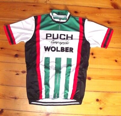 Brand New Team PUCH Campagnolo Wolber Cycling jersey Record